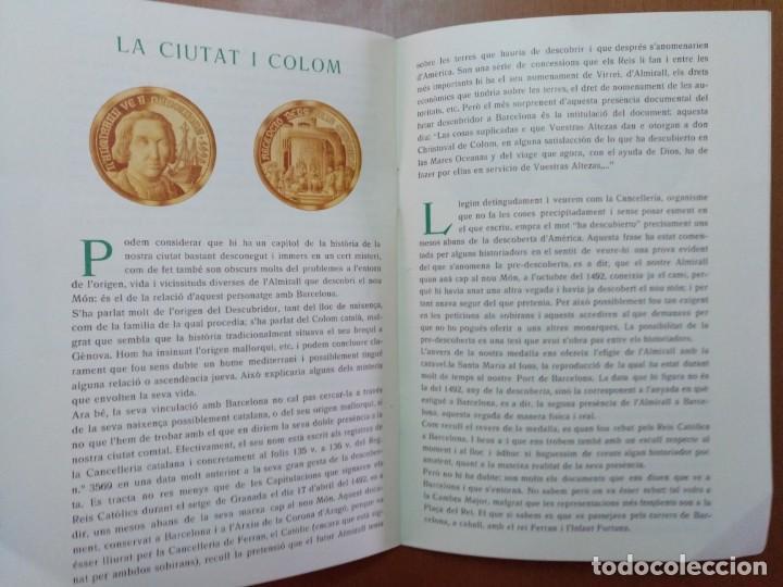 Catálogos y Libros de Monedas: BARCELONA A TRAVES DEL TEMPS FREDERIC UDINA MEDALLES D'OR I ARGENT 1971 - Foto 7 - 147845662