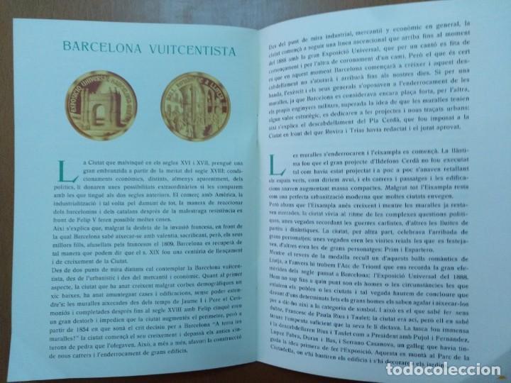 Catálogos y Libros de Monedas: BARCELONA A TRAVES DEL TEMPS FREDERIC UDINA MEDALLES D'OR I ARGENT 1971 - Foto 8 - 147845662
