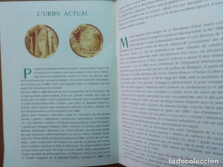 Catálogos y Libros de Monedas: BARCELONA A TRAVES DEL TEMPS FREDERIC UDINA MEDALLES D'OR I ARGENT 1971 - Foto 9 - 147845662