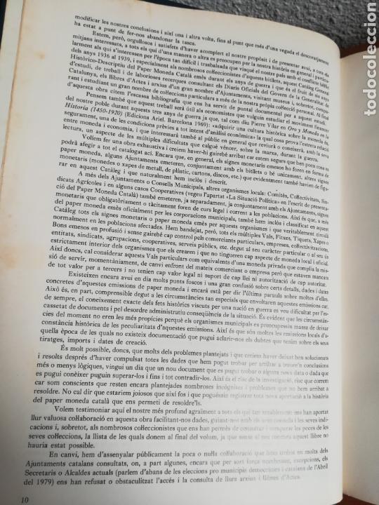 Catálogos y Libros de Monedas: El paper moneda català Emissions de la guerra 1936-1939 - Andorra - A. Turró - Foto 18 - 148317576