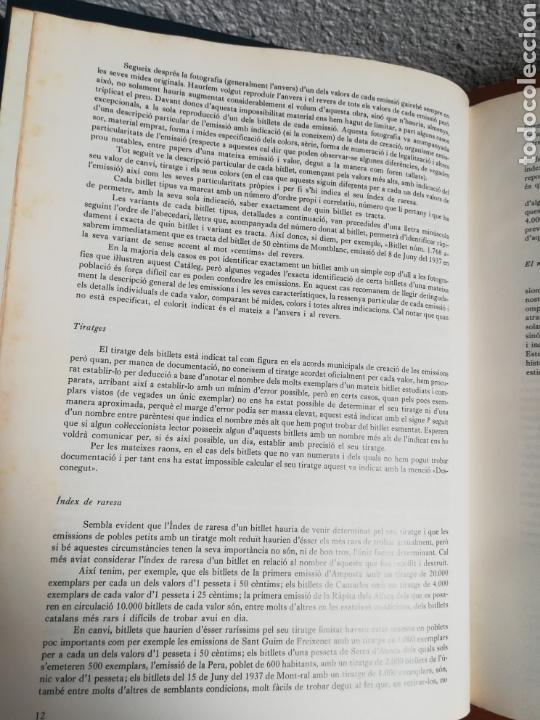 Catálogos y Libros de Monedas: El paper moneda català Emissions de la guerra 1936-1939 - Andorra - A. Turró - Foto 20 - 148317576