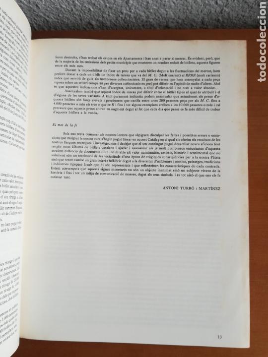 Catálogos y Libros de Monedas: El paper moneda català Emissions de la guerra 1936-1939 - Andorra - A. Turró - Foto 21 - 148317576