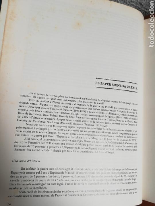Catálogos y Libros de Monedas: El paper moneda català Emissions de la guerra 1936-1939 - Andorra - A. Turró - Foto 22 - 148317576