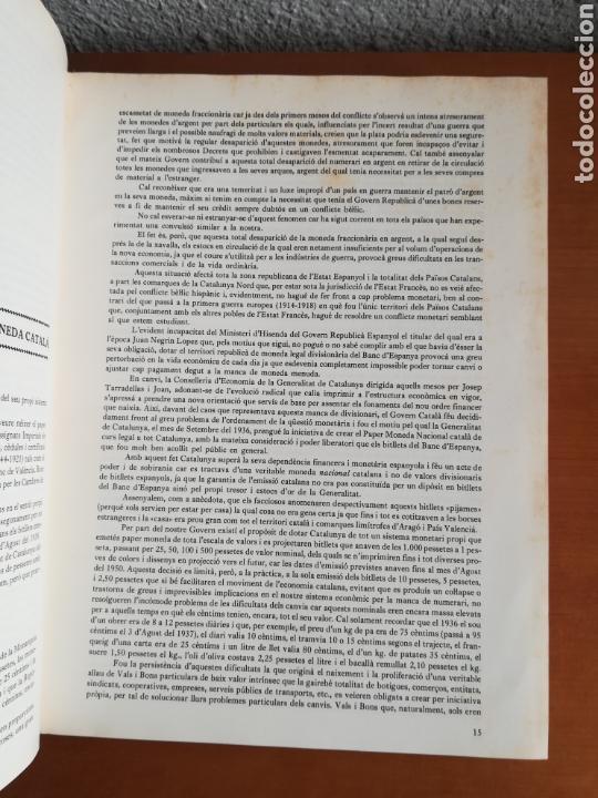 Catálogos y Libros de Monedas: El paper moneda català Emissions de la guerra 1936-1939 - Andorra - A. Turró - Foto 23 - 148317576