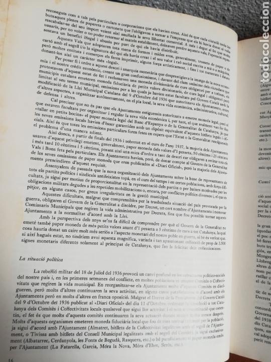 Catálogos y Libros de Monedas: El paper moneda català Emissions de la guerra 1936-1939 - Andorra - A. Turró - Foto 24 - 148317576