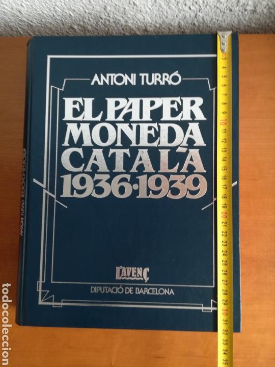 Catálogos y Libros de Monedas: El paper moneda català Emissions de la guerra 1936-1939 - Andorra - A. Turró - Foto 65 - 148317576