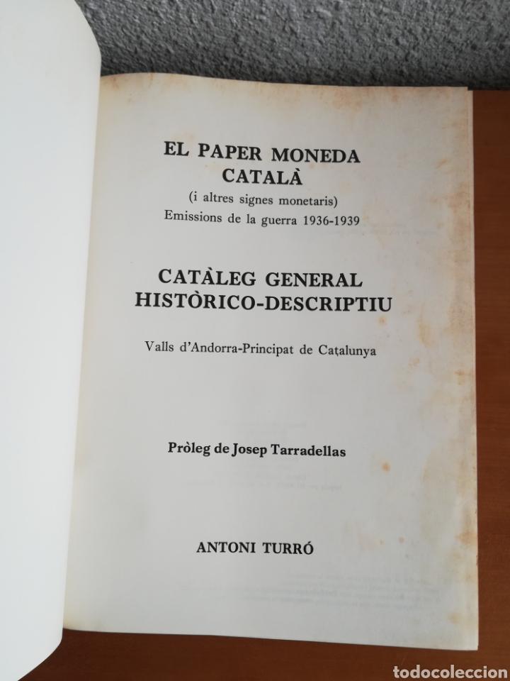 Catálogos y Libros de Monedas: El paper moneda català Emissions de la guerra 1936-1939 - Andorra - A. Turró - Foto 10 - 148317576