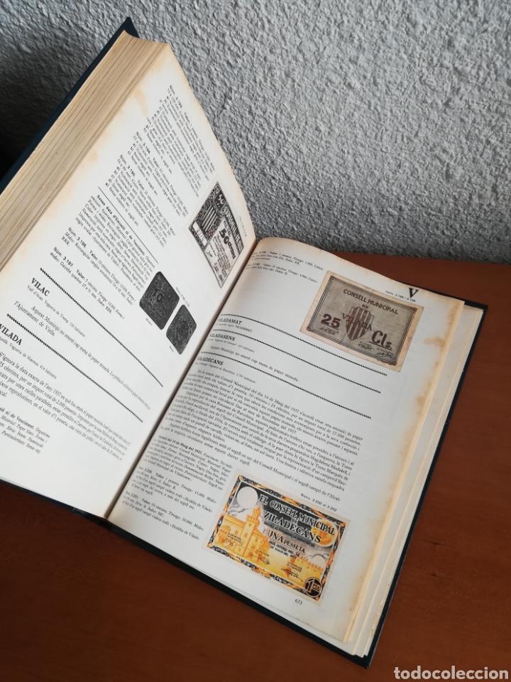 Catálogos y Libros de Monedas: El paper moneda català Emissions de la guerra 1936-1939 - Andorra - A. Turró - Foto 50 - 148317576
