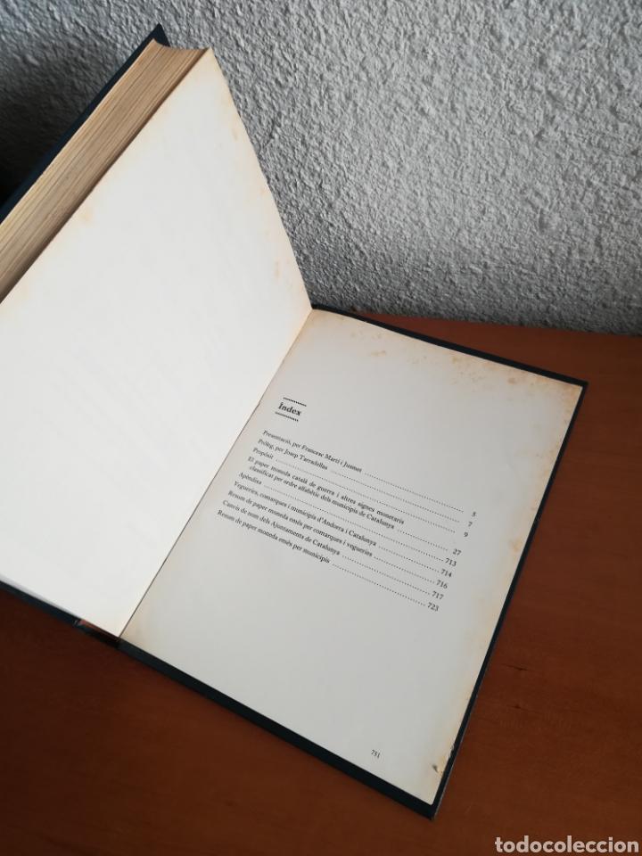 Catálogos y Libros de Monedas: El paper moneda català Emissions de la guerra 1936-1939 - Andorra - A. Turró - Foto 56 - 148317576