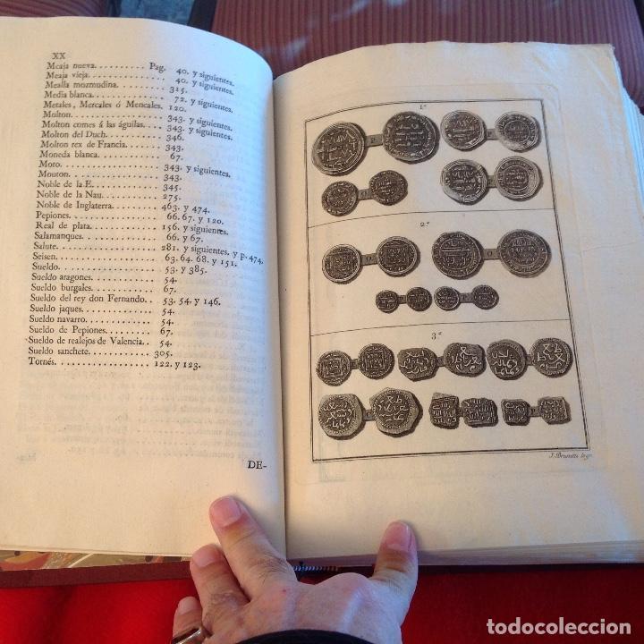 Catálogos y Libros de Monedas: Demostración histórica del verdadero valor de las monedas de Enrique IV, Liciniano Sáez, Madrid,1805 - Foto 7 - 148428978