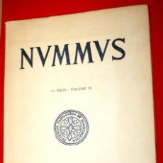 Catálogos y Libros de Monedas: NVMMVS 1979. 2ª SERIE - VOLUMEN II. SOCIETADE PORTUGUESA DE NUMISMÁTICA. PORTO.. Lote 148622534