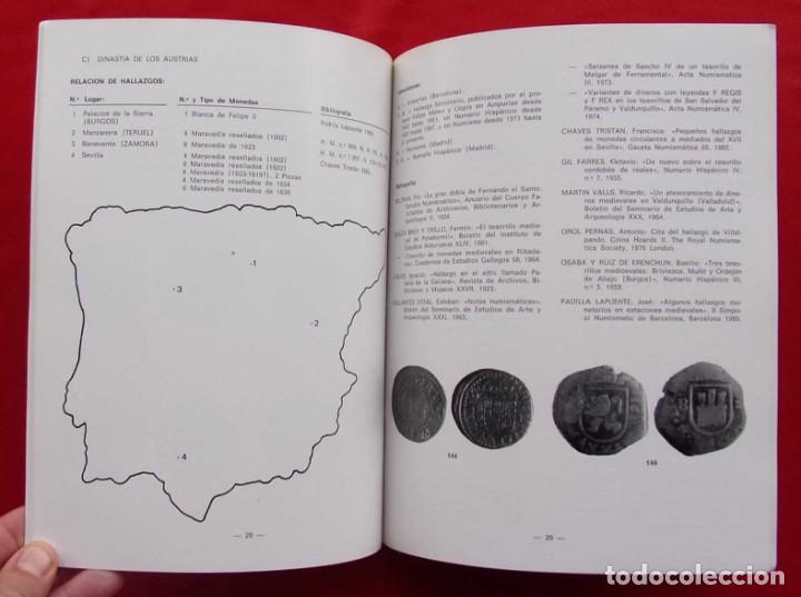 Catálogos y Libros de Monedas: LA CECA DE BURGOS. AÑO: 1983. BUEN ESTADO. ACUÑACIONES DE MONEDA. SIGLOS XI AL XVIII. - Foto 5 - 195326466