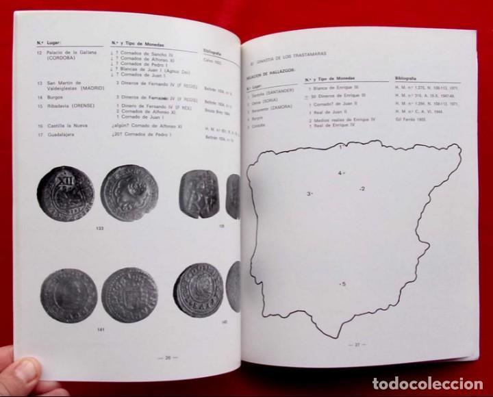 Catálogos y Libros de Monedas: LA CECA DE BURGOS. AÑO: 1983. BUEN ESTADO. ACUÑACIONES DE MONEDA. SIGLOS XI AL XVIII. - Foto 7 - 195326466
