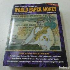 Catálogos y Libros de Monedas: WORLD PAPER MONEY-5 TH EDITION -VOLUME THREE-N 1. Lote 149875130