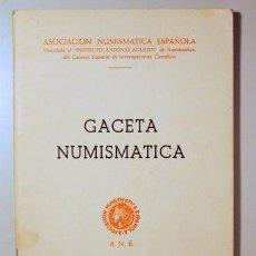 Catálogos y Libros de Monedas: GACETA NUMISMÁTICA. NÚM 12 - BARCELONA 1969 - ILUSTRADO. Lote 150803733