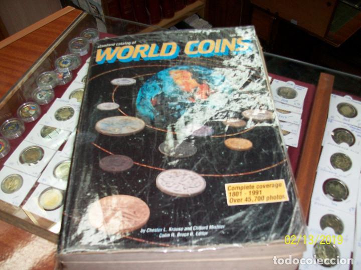 CATALOGO DE MONEDAS-WORLD COINS-DESDE 1801 A 1991 (Numismática - Catálogos y Libros)