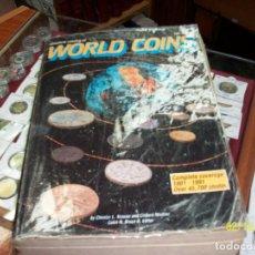 Catálogos y Libros de Monedas: CATALOGO DE MONEDAS-WORLD COINS-DESDE 1801 A 1991. Lote 151158270