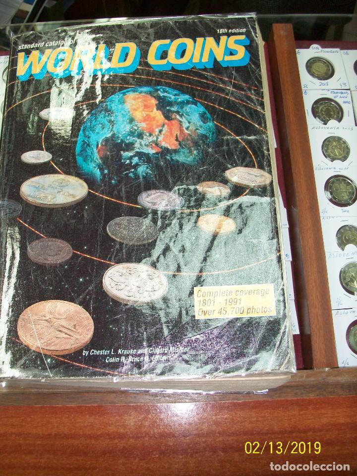 Catálogos y Libros de Monedas: CATALOGO DE MONEDAS-WORLD COINS-DESDE 1801 A 1991 - Foto 2 - 151158270
