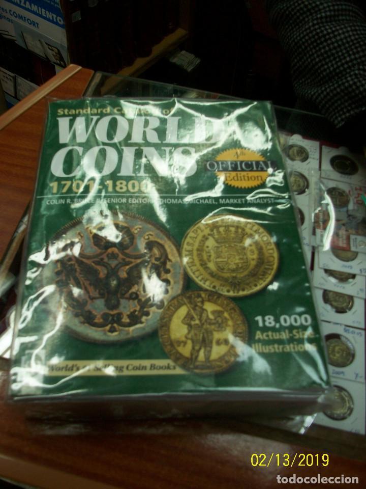 Catálogos y Libros de Monedas: CATALOGO DE MONEDAS-WORLD COINS-DESDE 1801 A 1991 - Foto 5 - 151158270