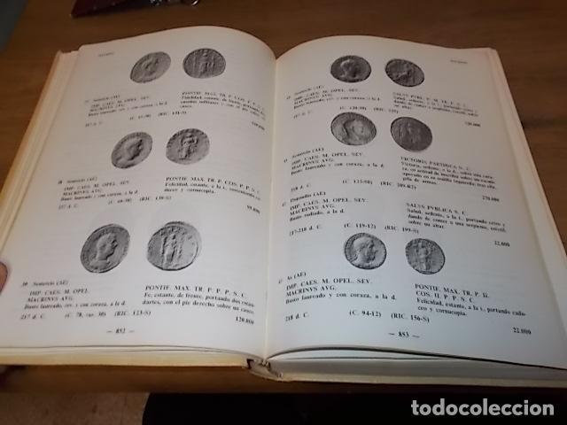 COMPENDIO DE LAS MONEDAS DEL IMPERIO ROMANO. VOLUMEN II. DE CARACALLA A JULIANO DE PANNONIA. 1985. (Numismática - Catálogos y Libros)
