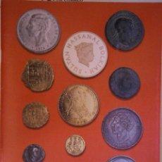 Catálogos y Libros de Monedas: CATALOGO SUBASTA NUMISMATICA R.MARTINEZ S.L 31 OCTUBRE 2001. Lote 152535402