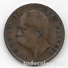 Catálogos y Libros de Monedas: ITALIA UMBERTO I 10 CENTIMOS 1894. Lote 152590778