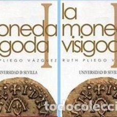 Catálogos y Libros de Monedas: LA MONEDA VISIGODA, 2 TOMOS, RUTH PLIEGO, NUEVOS. Lote 152818506
