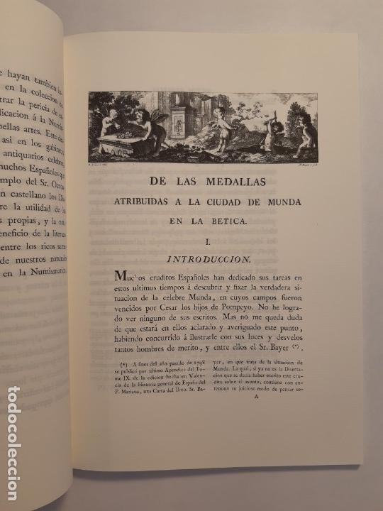 Catálogos y Libros de Monedas: Examen de las medallas antiguas atribuidas a la ciudad de Munda (Facsímil 1799). Monedas Numismática - Foto 2 - 220890497