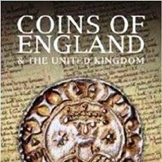 Catálogos y Libros de Monedas: COINS OF ENGLAND & THE UNITED KINGDOM, NUEVO. Lote 154177254