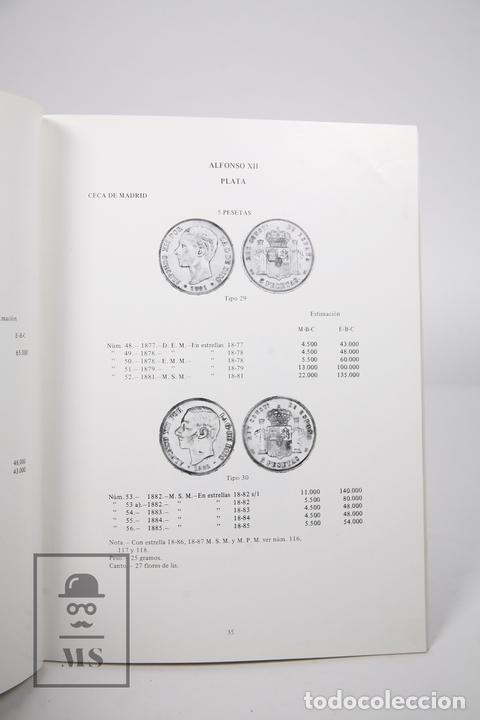 Catálogos y Libros de Monedas: Libro - Monedas Españolas desde 1868 a 1979 / Ferrán y Xavier Calicó, Joaquín Trigo - 3ª Ed. 1979 - Foto 2 - 154646048