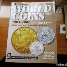 Catálogos y Libros de Monedas: CATALOGO MONEDAS WORLD COINS 1901-2000 EDIC. 2010. Lote 158918450