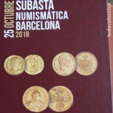 Catálogos y Libros de Monedas: MARTÍ HERVERA 25-10-18 COLECCIÓN RIDAO !ª REPÚBLICA HASTA ESTADO ESPAÑOL VER FOTOS. Lote 159842542