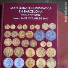 Catálogos y Libros de Monedas: MARTÍ HERVERA 26-10-17 HISPANIA GRIEGA ROMA BIZANCIO VISIGODOS AL-ANDALUS MEDIEVAL BILLETES MODERNA. Lote 159843670