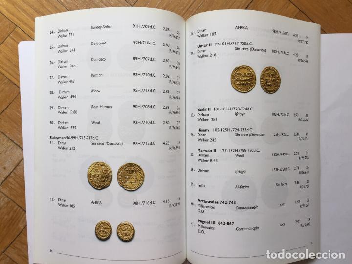 Catálogos y Libros de Monedas: Numismática: Un resplandor del Islam: los dinares (Casa de la Moneda, 2004) Catálogo. ¡ORIGINAL! - Foto 8 - 266975194