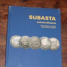 Catálogos y Libros de Monedas: CATALOGO SUBASTA NUMISMATICA EXTRAORDINARIA CAYON. 28 FEBRERO 2019.HOTEL PALACE. MADRID. VER FOTOS. Lote 198386063