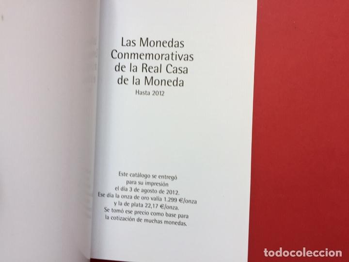 Catálogos y Libros de Monedas: LAS MONEDAS CONMEMORATIVAS DE LA RCM 1989-2012 (FNMT, 2012) Catálogo. ¡ORIGINAL! - Foto 3 - 163934038