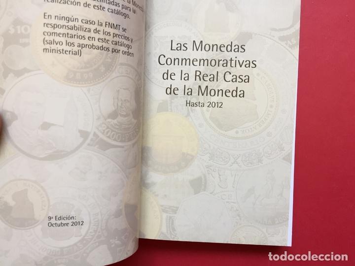 Catálogos y Libros de Monedas: LAS MONEDAS CONMEMORATIVAS DE LA RCM 1989-2012 (FNMT, 2012) Catálogo. ¡ORIGINAL! - Foto 4 - 163934038