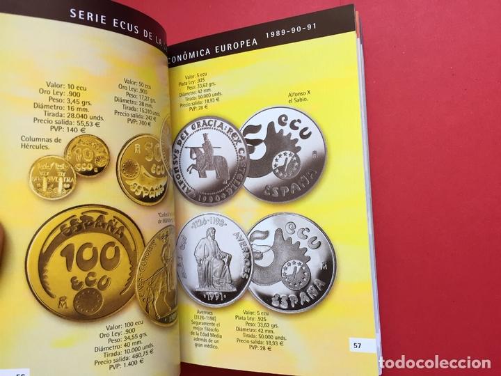 Catálogos y Libros de Monedas: LAS MONEDAS CONMEMORATIVAS DE LA RCM 1989-2012 (FNMT, 2012) Catálogo. ¡ORIGINAL! - Foto 7 - 163934038