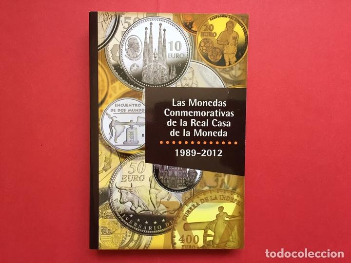 LAS MONEDAS CONMEMORATIVAS DE LA RCM 1989-2012 (FNMT, 2012) CATÁLOGO. ¡ORIGINAL! (Numismática - Catálogos y Libros)