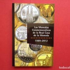 Catálogos y Libros de Monedas: LAS MONEDAS CONMEMORATIVAS DE LA RCM 1989-2012 (FNMT, 2012) CATÁLOGO. ¡ORIGINAL!. Lote 163934038