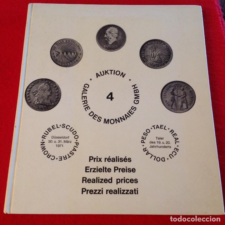 CATALOGO DE SUBASTA DE DUROS DEL MUNDO , 1971 (Numismática - Catálogos y Libros)