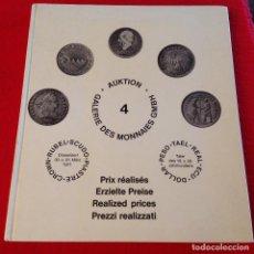 Catálogos y Libros de Monedas: CATALOGO DE SUBASTA DE DUROS DEL MUNDO , 1971. Lote 165164374
