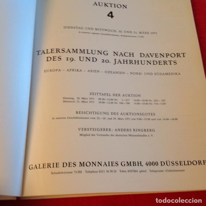 Catálogos y Libros de Monedas: Catalogo de subasta de duros del mundo , 1971 - Foto 2 - 165164374