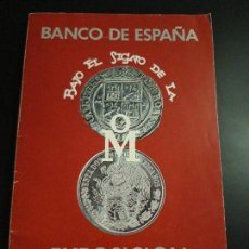 Catálogos y Libros de Monedas: 1 ** EXPOSICION NUMISMATICA DEL BANCO DE MEXICO ** BCO. ESPAÑA 1978 . Lote 165748638