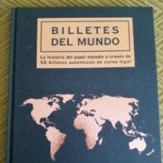 Catálogos y Libros de Monedas: LIBRO COLECCION BILLETES DEL MUNDO . Lote 166616882