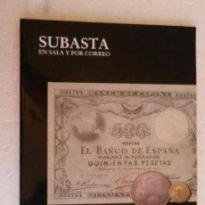 Catálogos y Libros de Monedas: CATÁLOGO SUBASTAS PLIEGO NUMISMÁTICA. SEVILLA DICIEMBRE 2008.. Lote 169461864