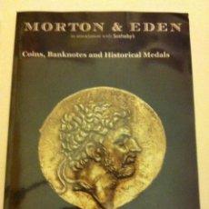 Catálogos y Libros de Monedas: CATÁLOGO SUBASTA - 14 NOV.2012 -95 PÁGINAS -MORTON & EDEN (LONDON). Lote 171088620