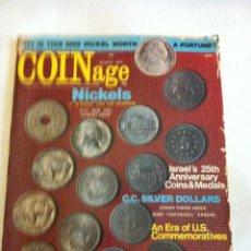 Catálogos y Libros de Monedas: COINAGE - AÑO 1973. Lote 171090595