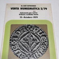 Catálogos y Libros de Monedas: NUMISMATICA 1979. Lote 172797454