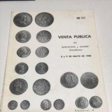 Catálogos y Libros de Monedas: NUMISMATICA. CATALOGOS. Lote 172797650